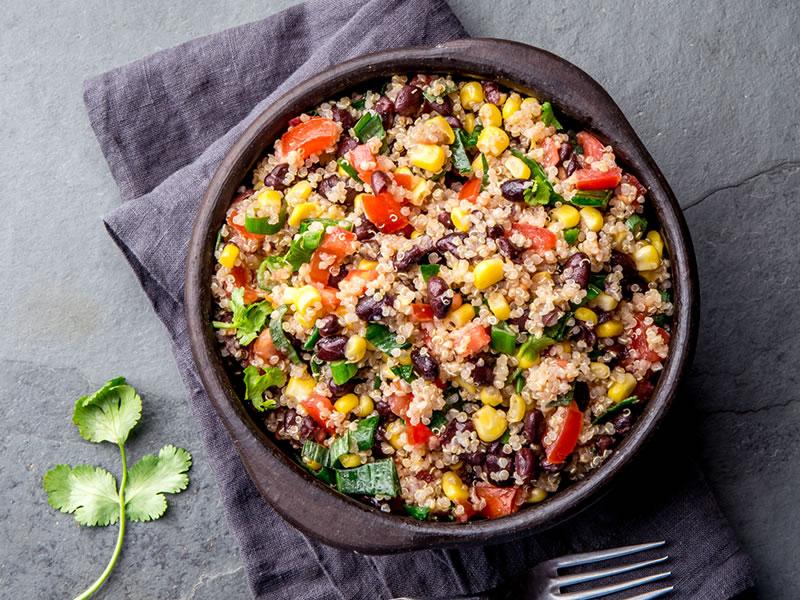 Chicken + Black Quinoa Tabbouleh