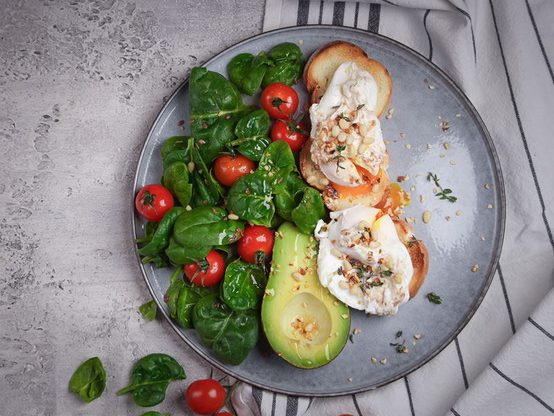 Eggs + Avo on Wholegrain