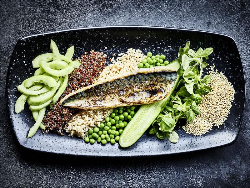 Green Garden Mackerel Salad Box