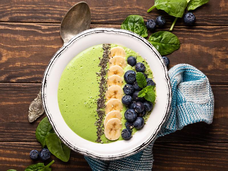 Green Protein Boost Bircher