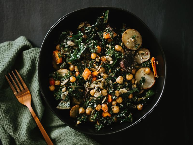 Herbed Potato + Kale Salad