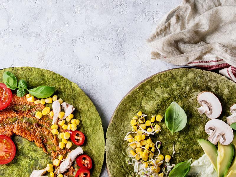 Mexican Salsa Wrap