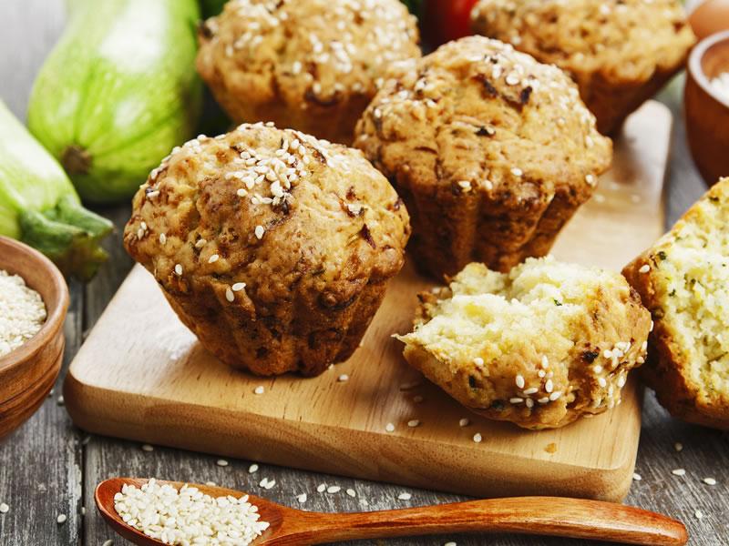 No Naughties Quinoa Muffin
