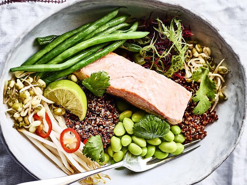 Salmon Supreme Bowl