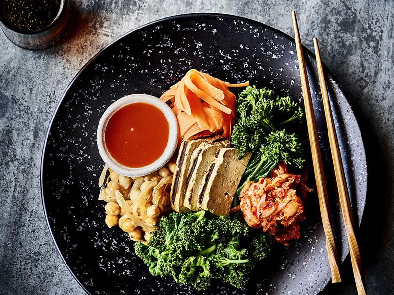 Smoked Tofu Buddha Bowl