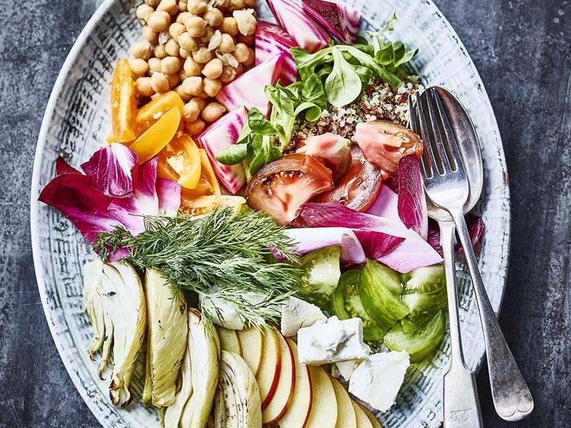 Crunchy Rainbow Salad