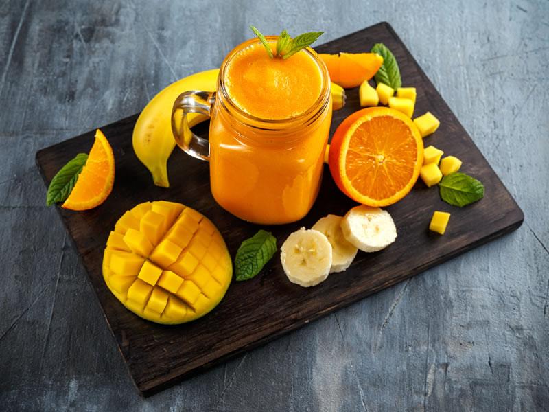 Orange + Maca Thick Shake