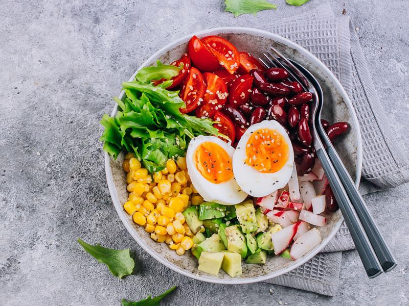 My Favourite Protein Salad
