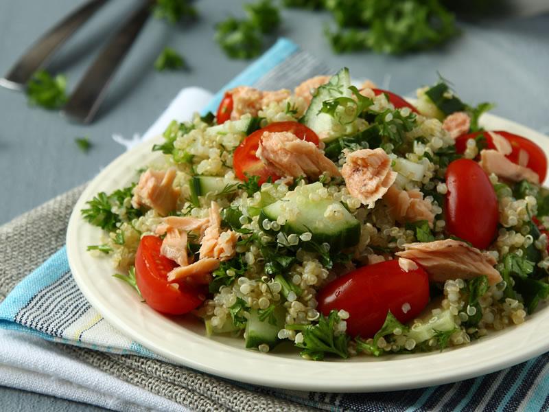 Salmon + Tabbouleh Pot