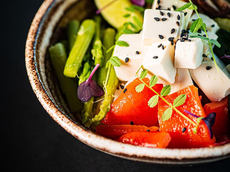 Slow Release Tofu Seaweed Salad